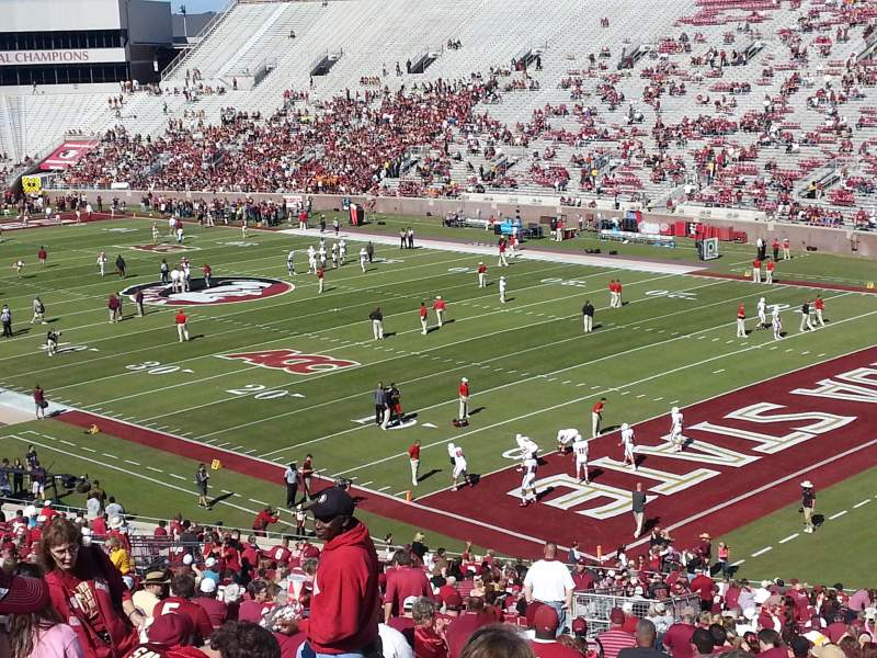 Seating view for Bobby Bowden Field at Doak Campbell Stadium Section 27 Row 59 Seat 20