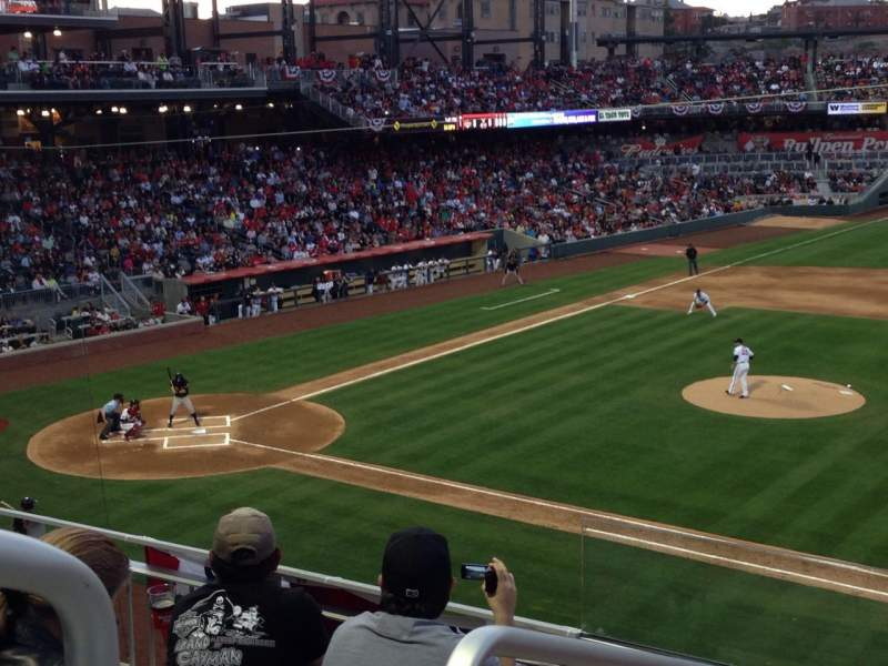 Seating view for Southwest University Park Section 205 Row D Seat 12