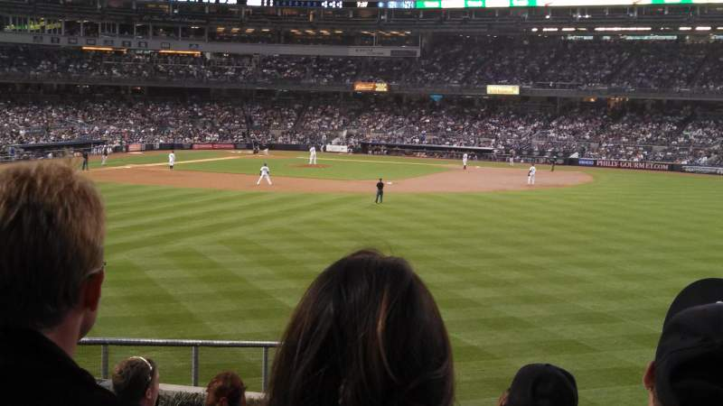 Seating view for Yankee Stadium Section 202 Row 11