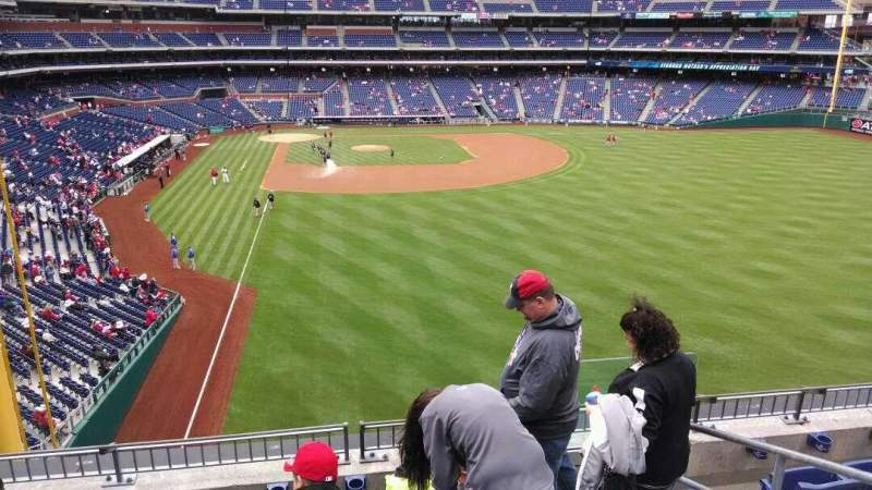 Seating view for Citizens Bank Park Section 205 Row 5 Seat 2