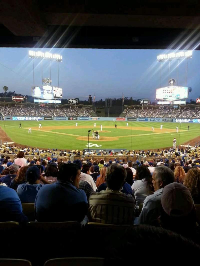 Dodger Stadium, section 2FD, row W, seat 15 - Los Angeles ...