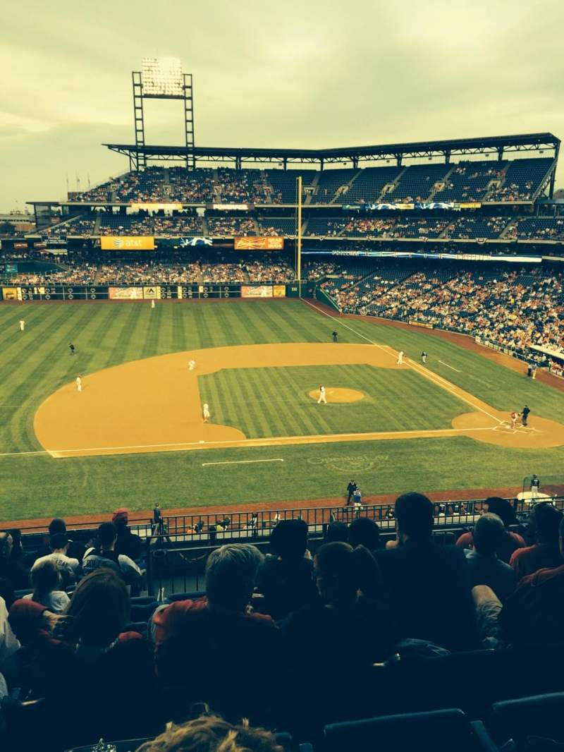Seating view for Citizens Bank Park Section 228 Row 9 Seat 8