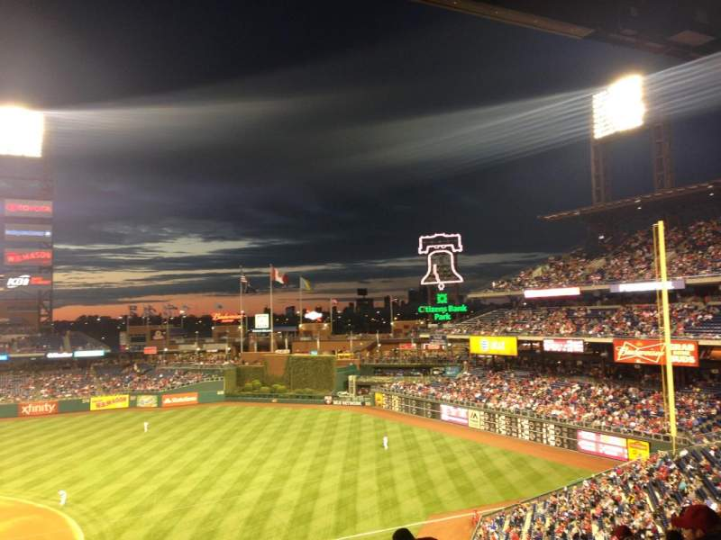 Citizens Bank Park, section: 214, row: 8, seat: 10