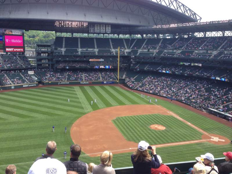 Seating view for Safeco Field Section 340 Row 10 Seat 16