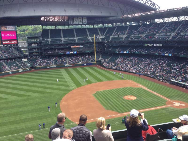 Seating view for Safeco Field Section 340 Row 10 Seat 17