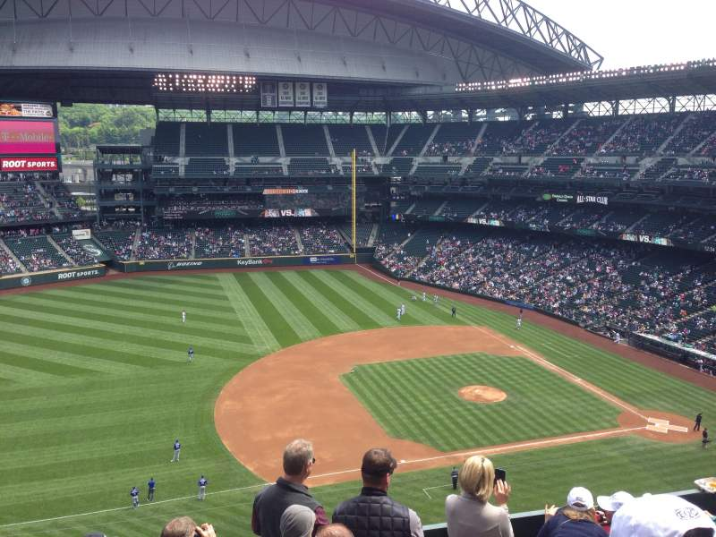 Seating view for Safeco Field Section 340 Row 10 Seat 18