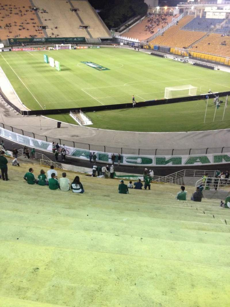 Seating view for Estádio do Pacaembú