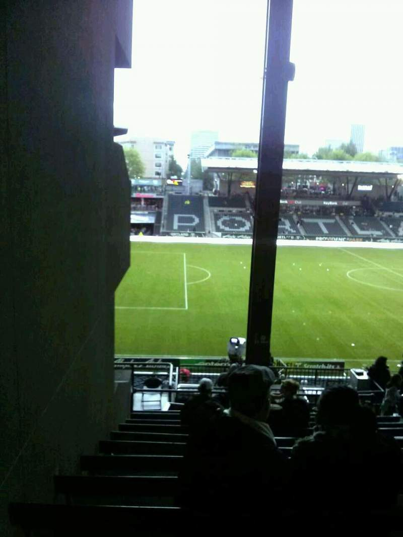 Seating view for Providence Park Section 215 Row K Seat 2