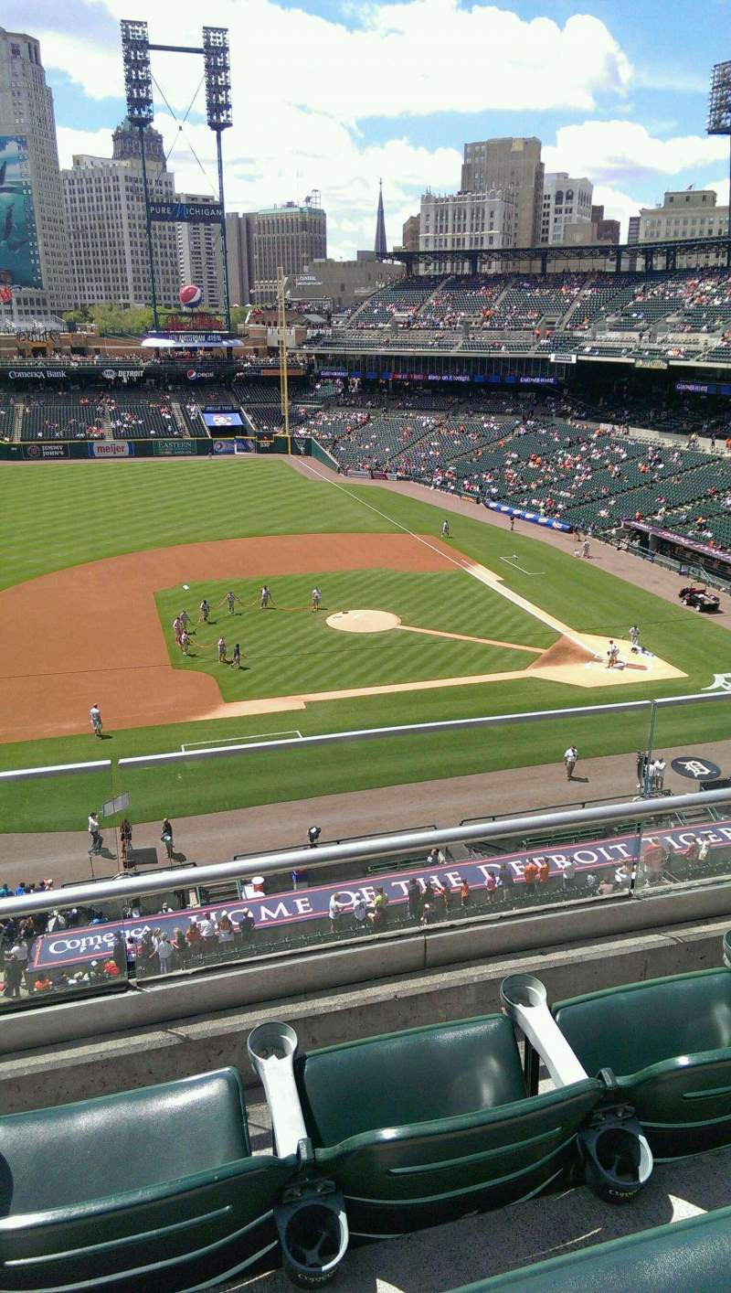 Seating view for Comerica Park Section 334 Row C Seat 6