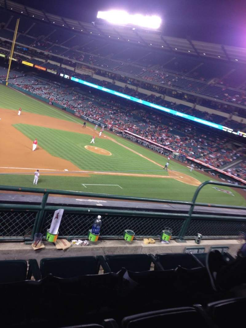 Seating view for Angel Stadium Section C314 Row C Seat 5