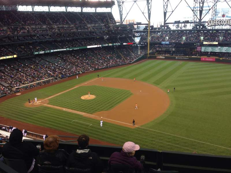 Seating view for Safeco Field Section 318 Row 9 Seat 19