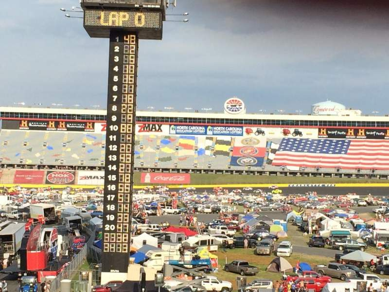 Seating view for Charlotte Motor Speedway Section Ford F Row 31