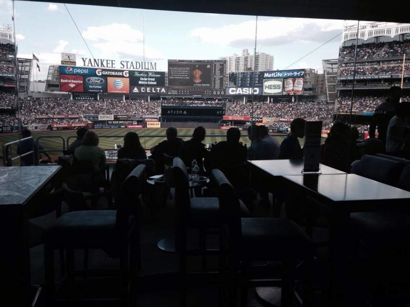 Seating view for Yankee Stadium Section Delta Sky360 Suite
