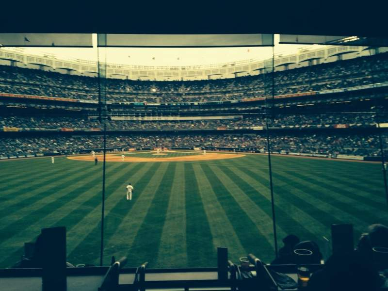 Seating view for Yankee Stadium Section Mohegan Sun Sports Bar