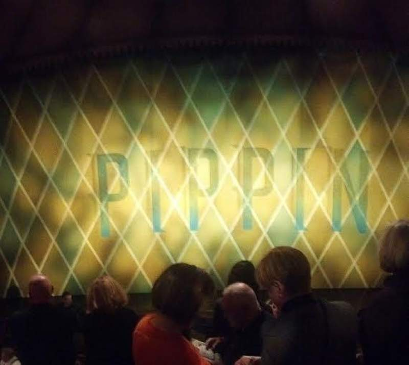 Seating view for Music Box Theatre Section Mezzanine Center Row L Seat 107