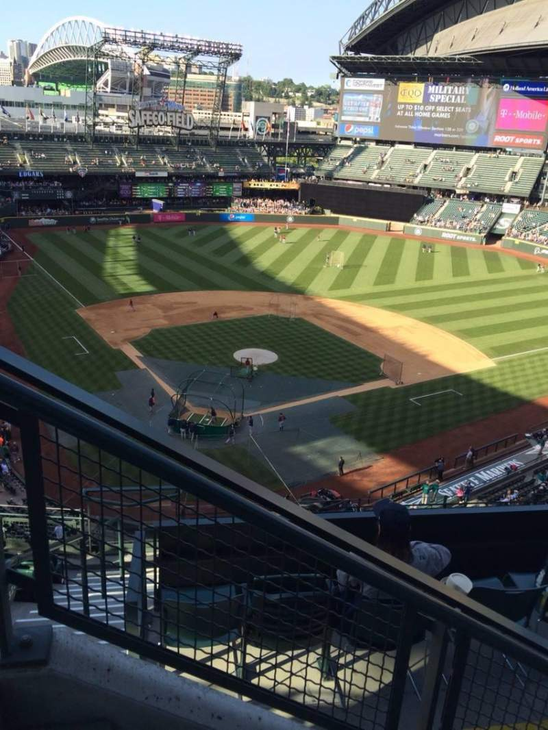 Seating view for Safeco Field Section 328 Row 9 Seat 15