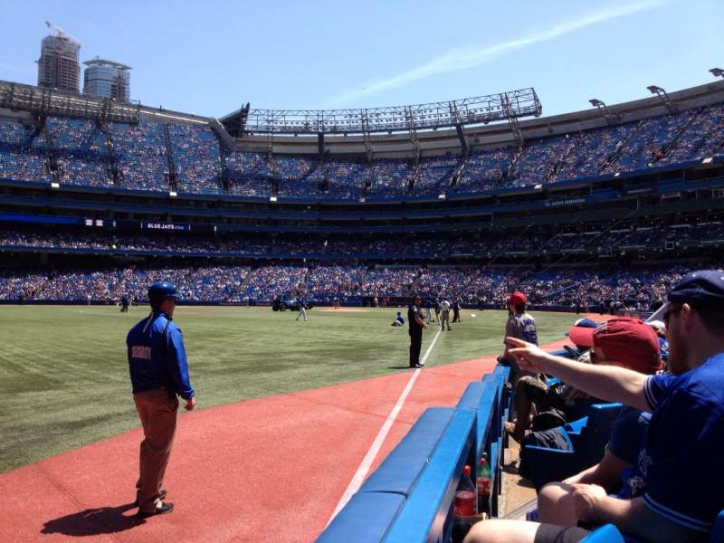 Seating view for Rogers Centre Section 130DL Row 5 Seat 110