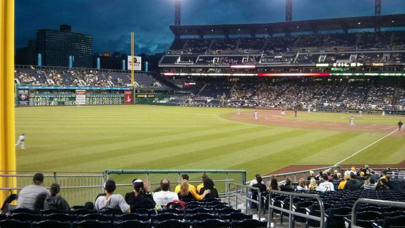 Seating view for PNC Park Section 132 Row u Seat 3