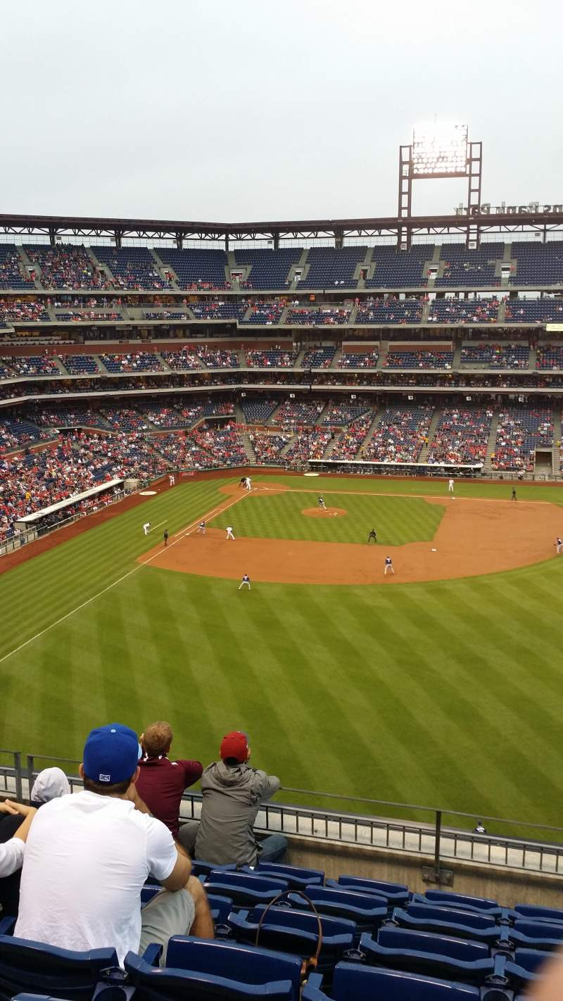 Seating view for Citizens Bank Park Section 302 Row 7 Seat 14