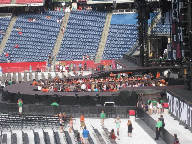 Seating view for Gillette Stadium Section 127 Row 34