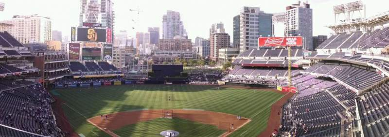 Seating view for PETCO Park Section 300 Row 8 Seat 10
