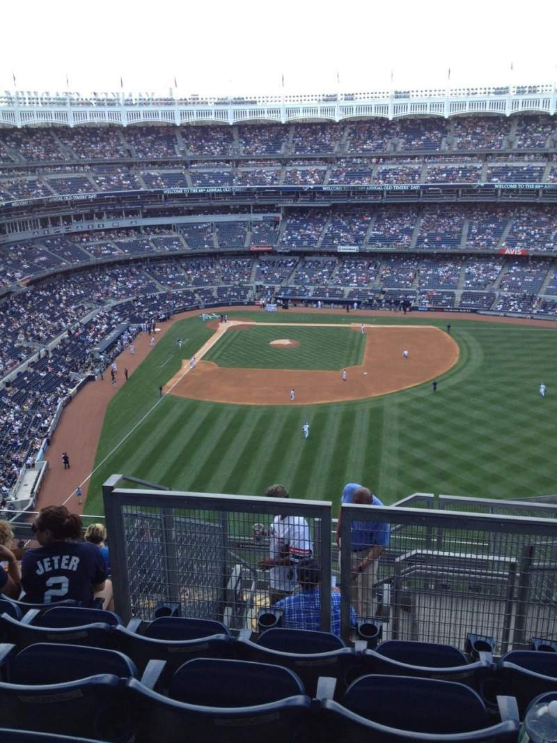 Seating view for Yankee Stadium Section 405 Row 12 Seat 16