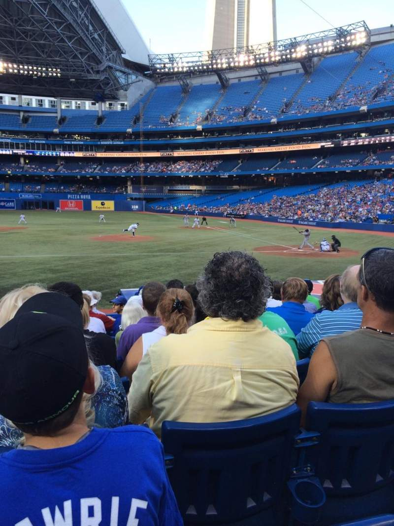 Seating view for Rogers Centre Section 126R Row 17 Seat 2