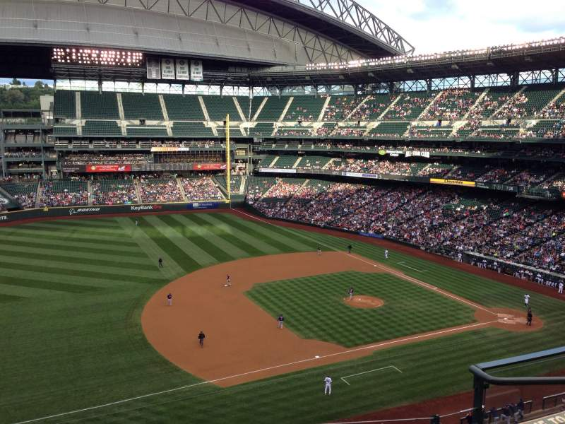 Seating view for Safeco Field Section 341 Row 4 Seat 5