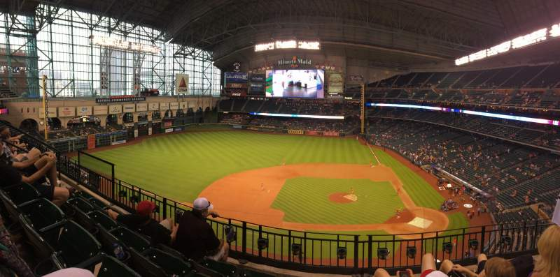 Seating view for Minute Maid Park Section 314 Row 4 Seat 10