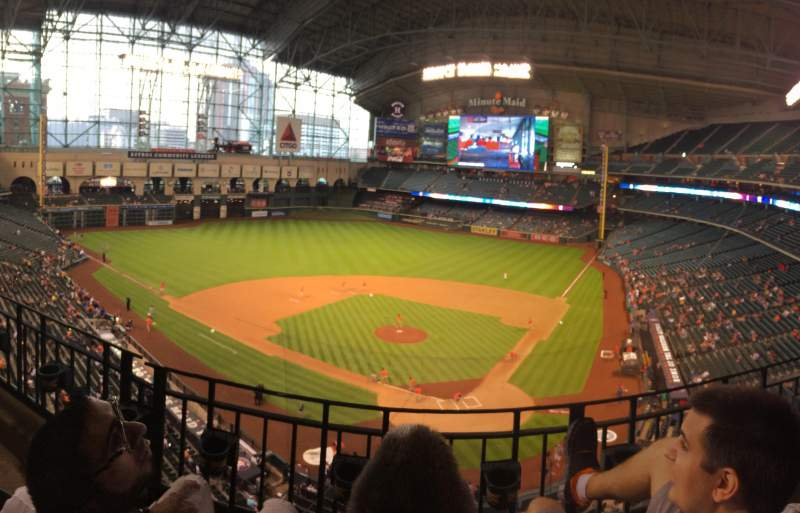 Seating view for Minute Maid Park Section 317 Row 2 Seat 9