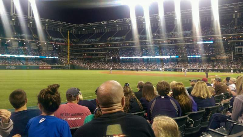 Seating view for Progressive Field Section 172 Row E Seat 8