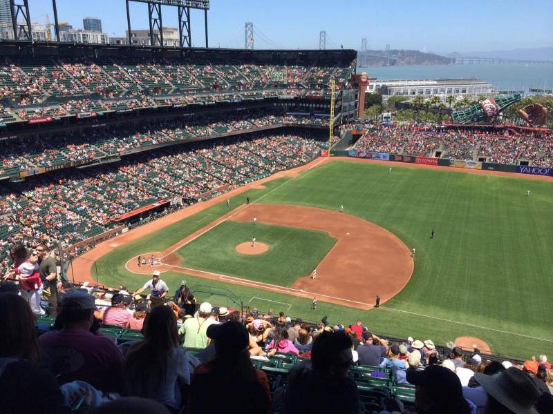 Seating view for AT&T Park Section 305 Row 16 Seat 12