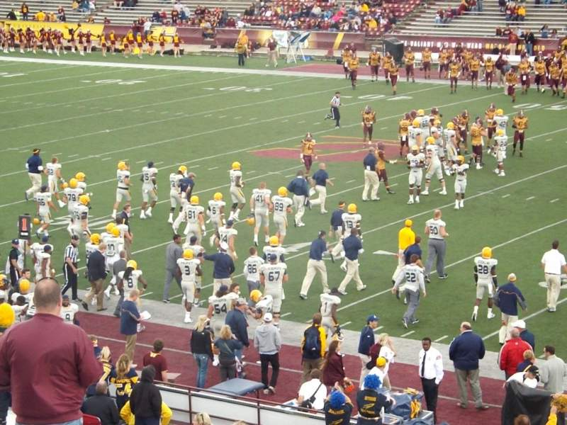 Seating view for Kelly Shorts Stadium Section Z