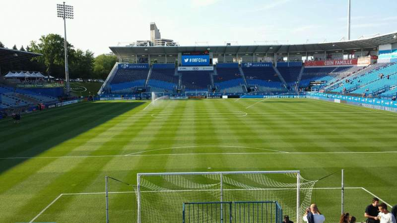 Seating view for Saputo Stadium Section 132