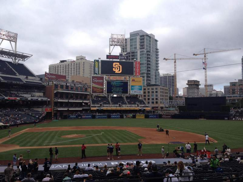 Seating view for PETCO Park Section FL 107 Row 31 Seat 8