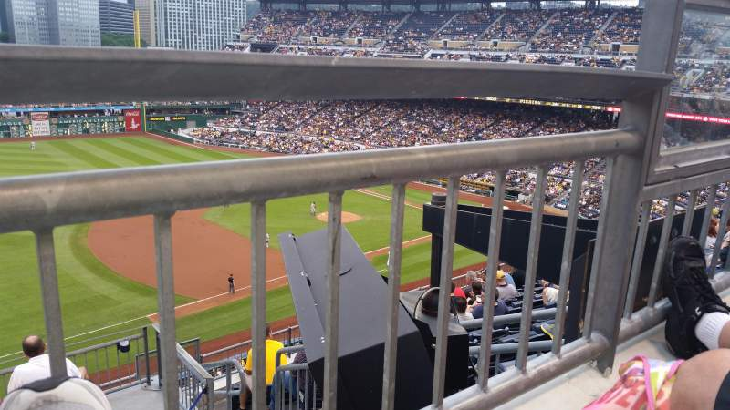 Seating view for PNC Park Section 327 Row a Seat 3
