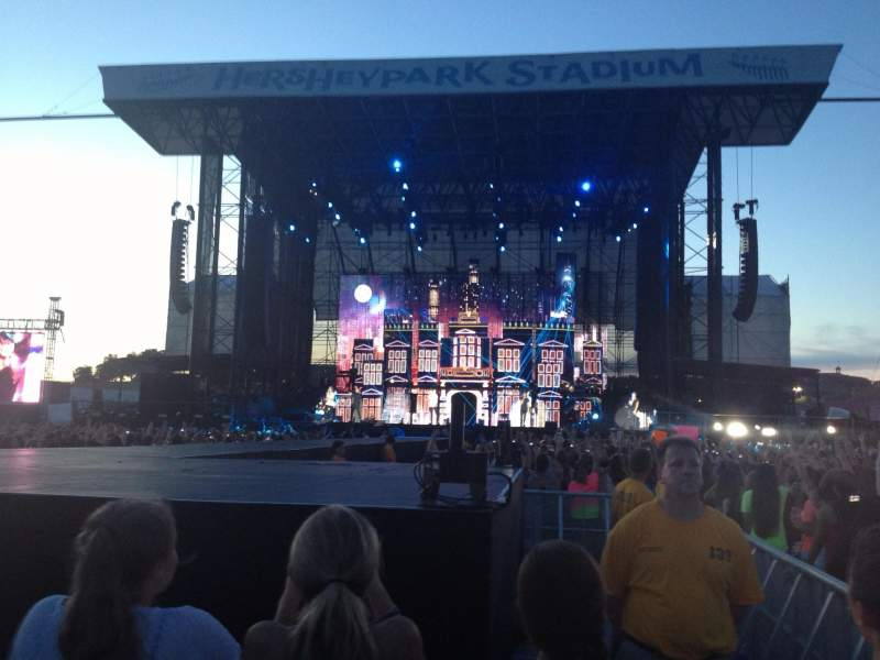 Seating view for Hershey Park Stadium Section B2 Row 42 Seat 4