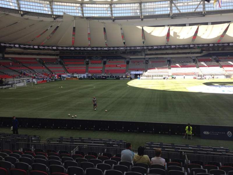 BC Place, section: 342, row: L, seat: 106