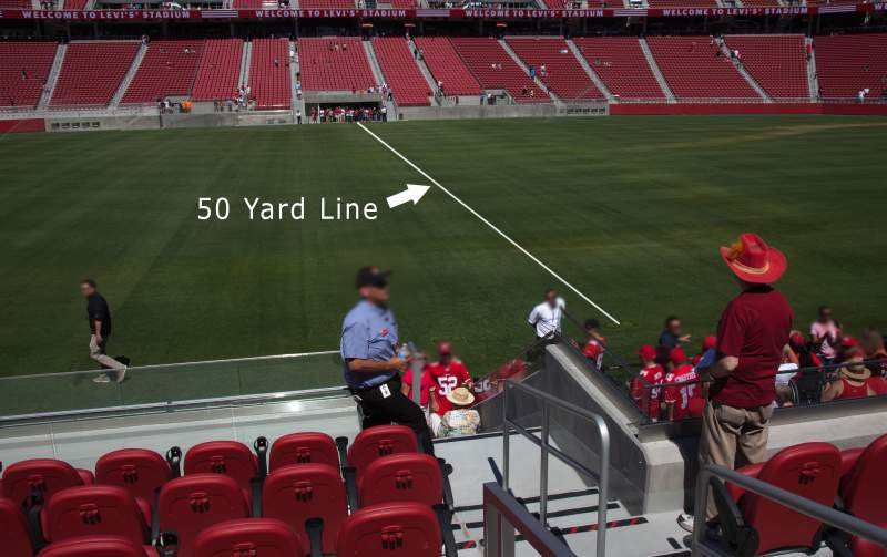 Seating view for Levi's Stadium Section C139 Row 10 Seat 1-6