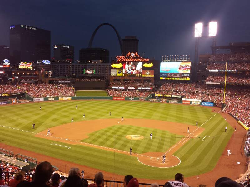 Seating view for Busch Stadium   Section 252 Row 7 Seat 6