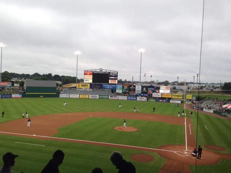 Seating view for McCoy Stadium Section 9 Row II Seat 7