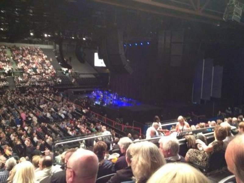 Seating view for Genting Arena Section 2 Row R Seat 36