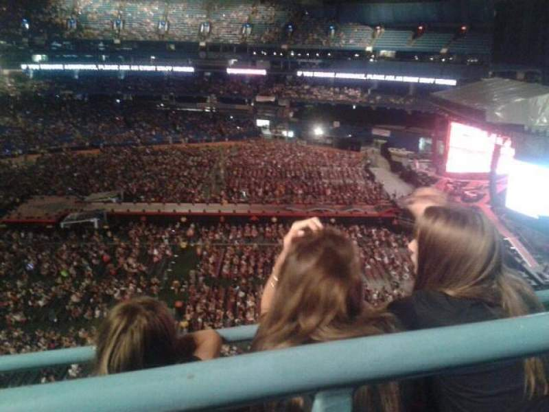 Seating view for Rogers Centre Section 509L Row 2 Seat 109