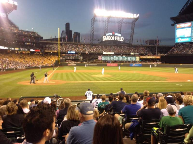 Seating view for Safeco Field Section 125 Row 16 Seat 1