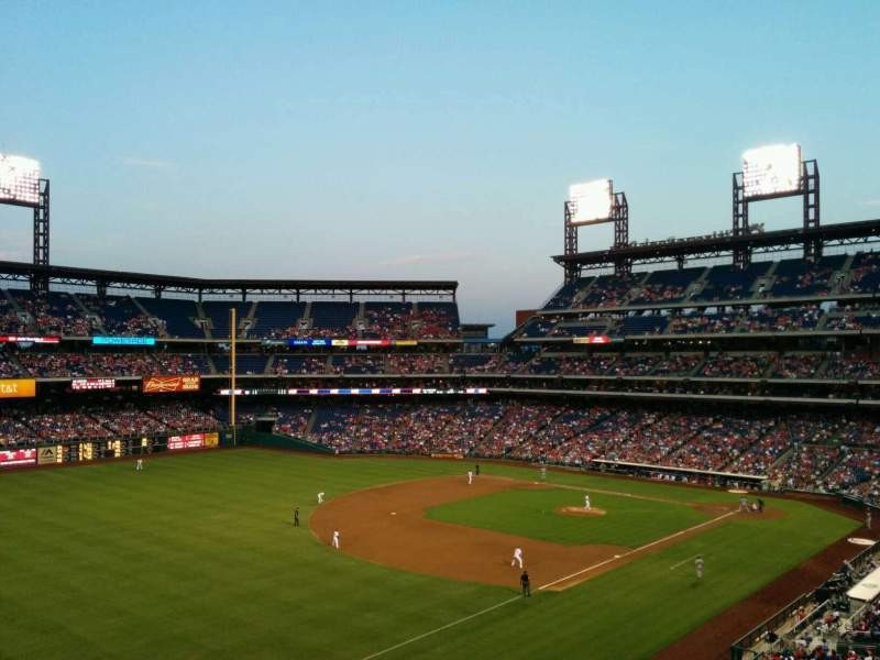 Seating view for Citizens Bank Park Section 235 Row 7 Seat 4