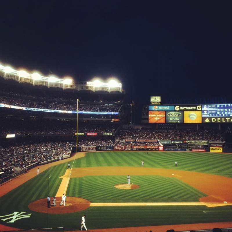 Seating view for Yankee Stadium Section 217 Row 8 Seat 19