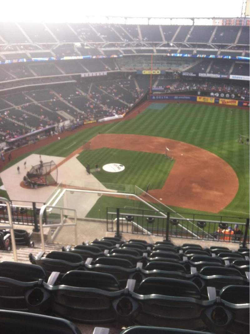 Seating view for Citi Field Section 506 Row 7 Seat 3