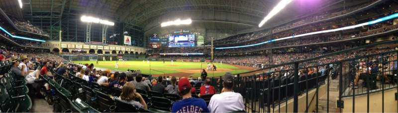 Seating view for Minute Maid Park Section 116 Row 12 Seat 15
