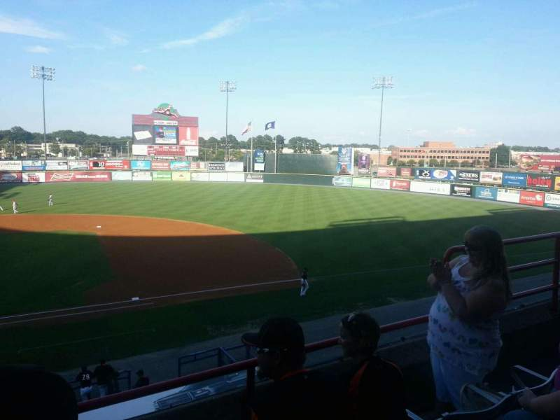 Seating view for The Diamond