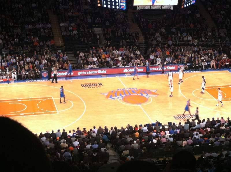 Seating view for Madison Square Garden Section 223 Row 22 Seat 11